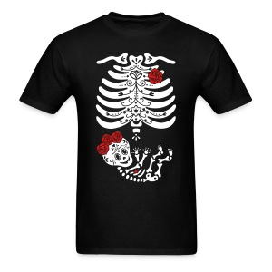 15 Frida Sugar Skull (non maternity) - Men's T-Shirt