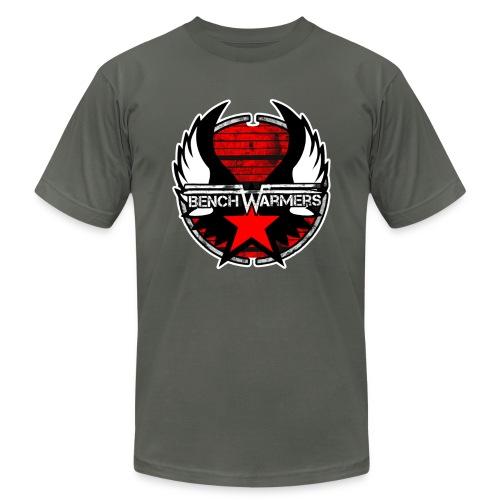 Logo 2 contour blanc pour homme - Men's  Jersey T-Shirt