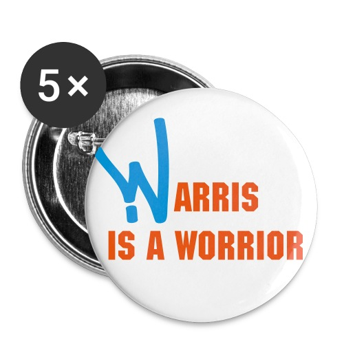 warris - Buttons small 1'' (5-pack)