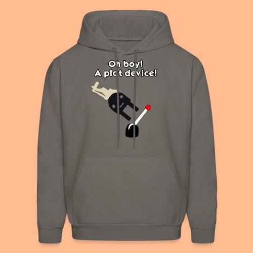 Plot device hoodie - Men's Hoodie