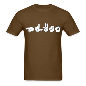 Pluto (ASL) - Men's T-Shirt