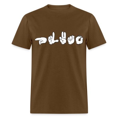 Pluto (ASL) - Men's T-Shirt
