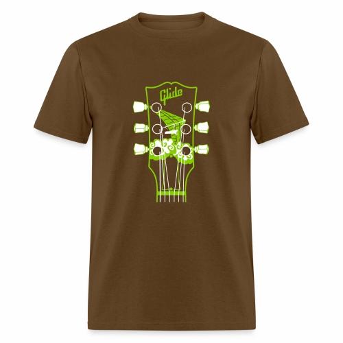Glide Men's T-shirt (green/white) - Men's T-Shirt