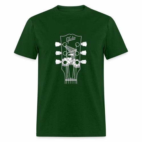 Glide Men's T-shirt (gray/white) - Men's T-Shirt