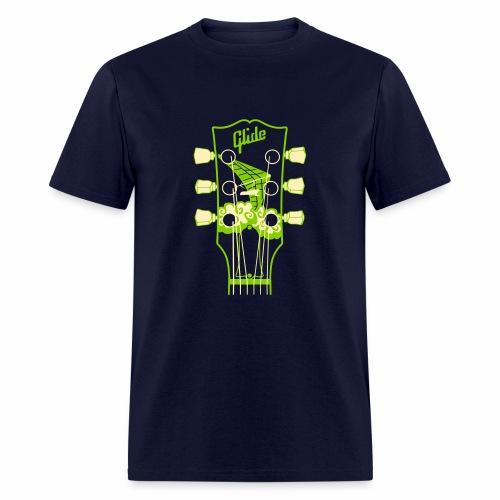 Glide Men's T-shirt (green/cream) - Men's T-Shirt