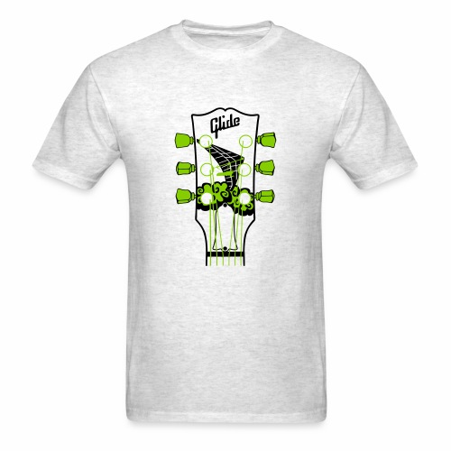 Glide Men's T-shirt (black/green) - Men's T-Shirt