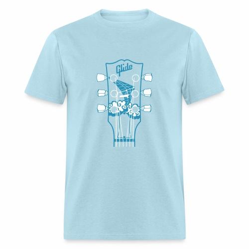 Glide Men's T-shirt (blue/white) - Men's T-Shirt