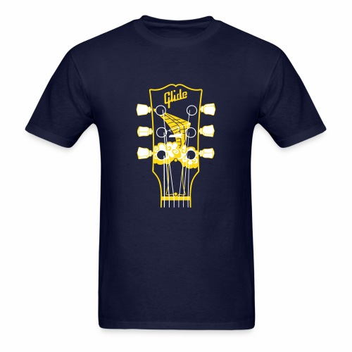 Glide Men's T-shirt (yellow/white) - Men's T-Shirt