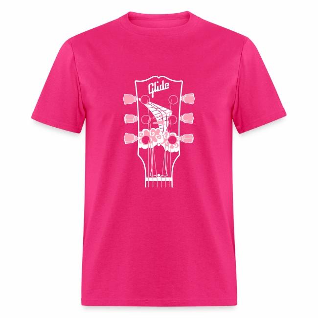 Glide Men's T-shirt (white/pink)