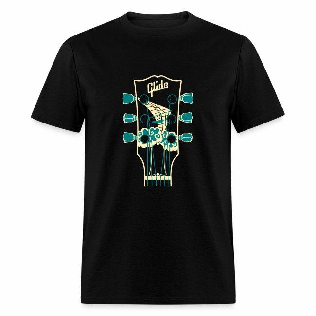 Glide Men's T-shirt (cream/teal)