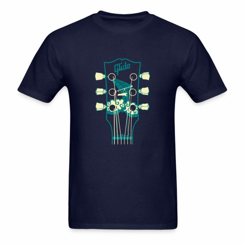 Glide Men's T-shirt (teal/cream) - Men's T-Shirt