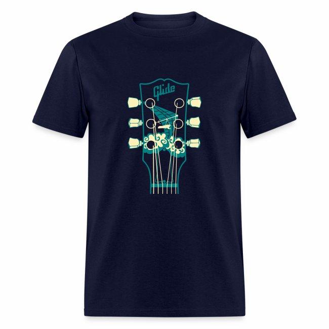 Glide Men's T-shirt (teal/cream)