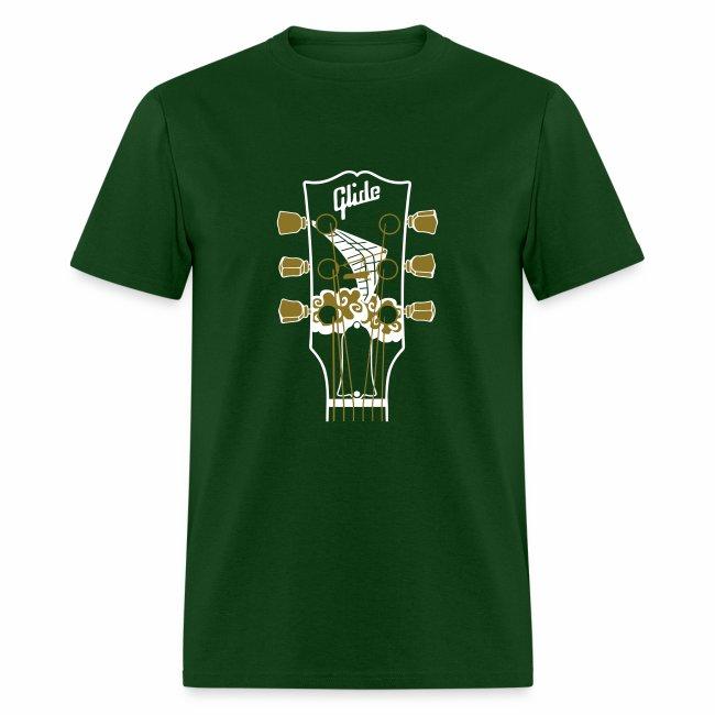 Glide Men's T-shirt (white/metallic gold)