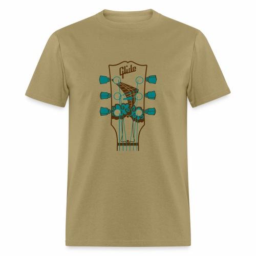 Glide Men's T-shirt (brown/teal) - Men's T-Shirt
