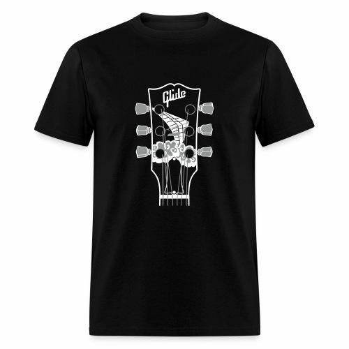 Glide Men's T-shirt (white/gray) - Men's T-Shirt