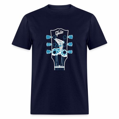Glide Men's T-shirt (white/blue) - Men's T-Shirt