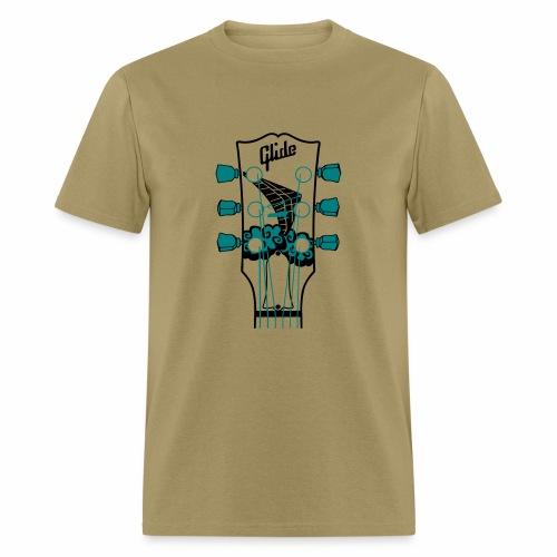 Glide Men's T-shirt (black/teal) - Men's T-Shirt