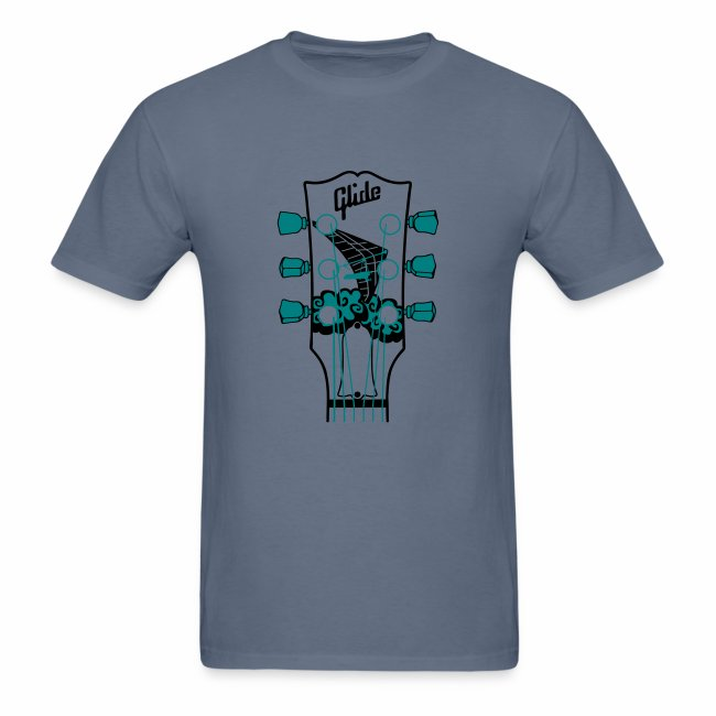 Glide Men's T-shirt (black/teal)