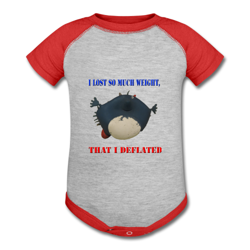 I Lost So Much Weight I Deflated Baby T-Shirt - Baby Contrast One Piece