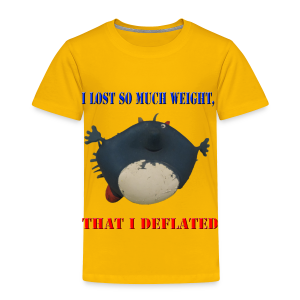 I Lost So Much Weight I Deflated Toddler T-Shirt - Toddler Premium T-Shirt