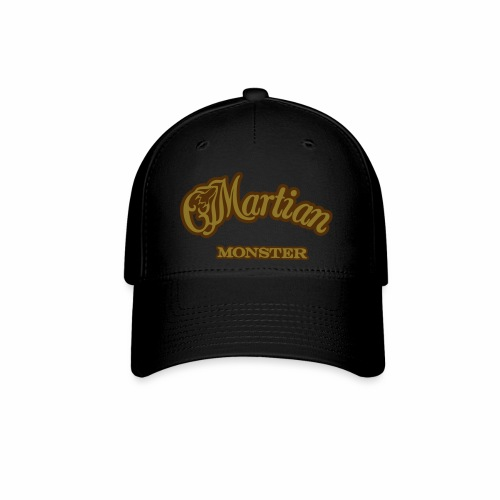 Martian Monster Baseball Cap (metallic gold/brown) - Baseball Cap
