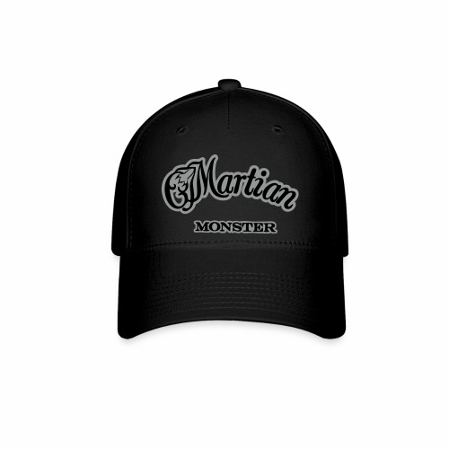 Martian Monster Baseball Cap (black/gray) - Baseball Cap