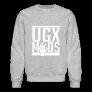 Long Sleeve Shirts ~ Crewneck Sweatshirt ~ Stencil Logo Crew Neck Sweater