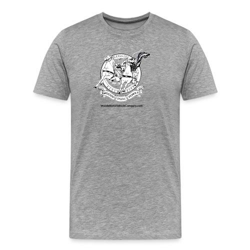 Men's Color T-shirt - Woods Dual Power Chariot Logo - Men's Premium T-Shirt