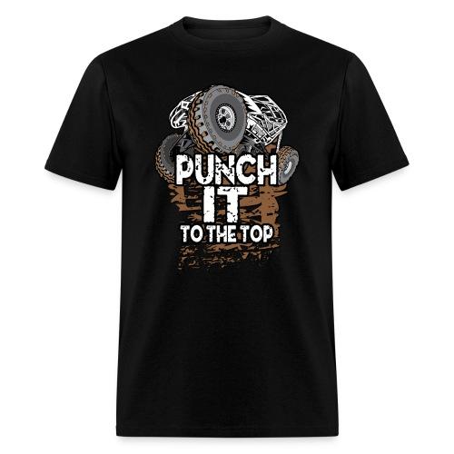 Punch It Rock Bouncer - Men's T-Shirt