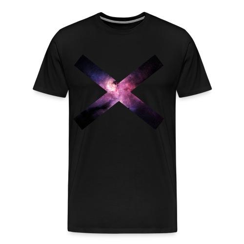 Normal galaxy cross shirt. - Men's Premium T-Shirt