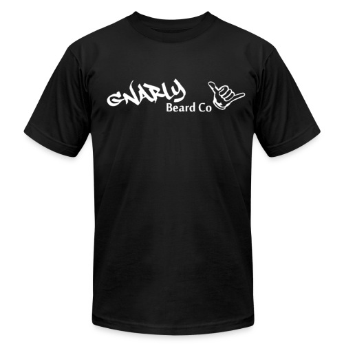 Gnarly Beard Nation. V2 (Ambassador) - Men's Fine Jersey T-Shirt