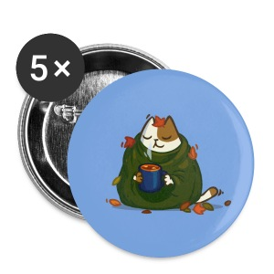 Friday Cat №23 - Large Buttons