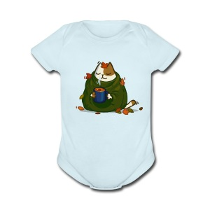 Friday Cat №23 - Short Sleeve Baby Bodysuit