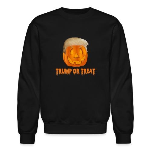 Trump Or Treat Sweathirt - Crewneck Sweatshirt