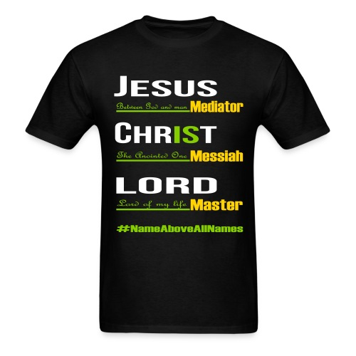 Jesus is Lord - Men's T-Shirt