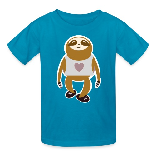 Kids Run Sloth T - Kids' T-Shirt