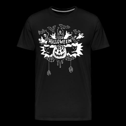 Is it Halloween yet? - Man's, White on Dark - Men's Premium T-Shirt