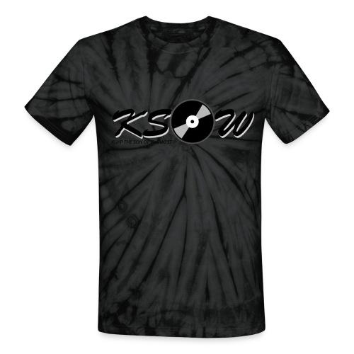 KSOW Script Tie Dye Tee - Unisex Tie Dye T-Shirt
