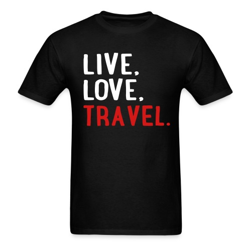 Live Love Travel Men's Tee - Men's T-Shirt