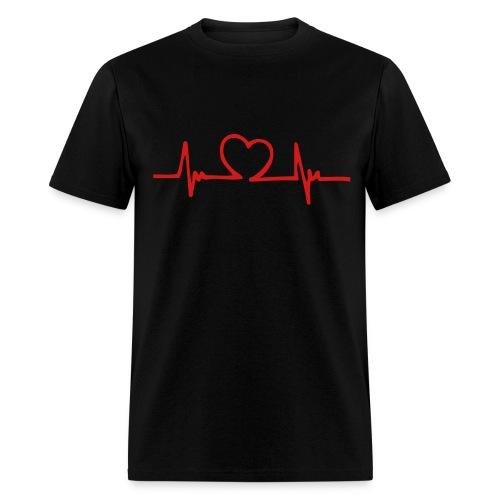 Heart Beat - Men's T-Shirt