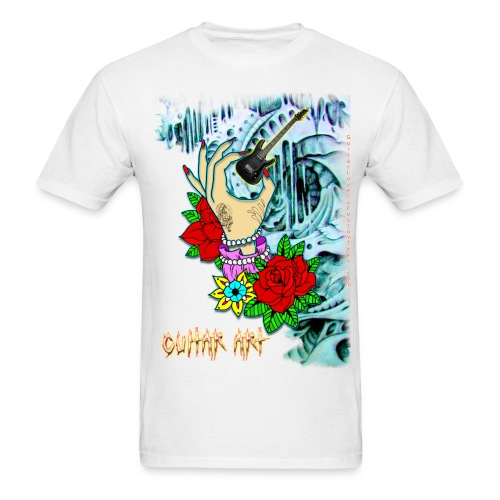 Guitar Art - Men's T-Shirt