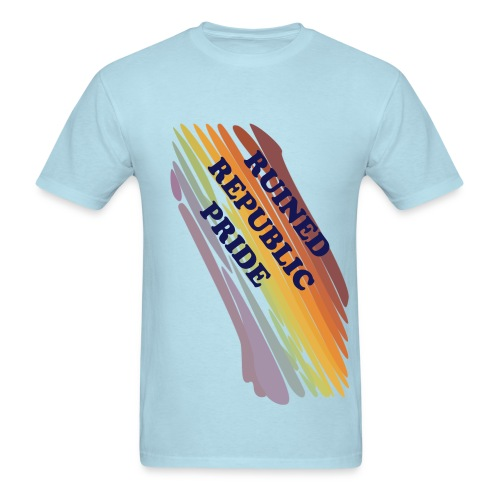 RUINED REPUBLIC GAY-PRIDE SHIRT - Men's T-Shirt