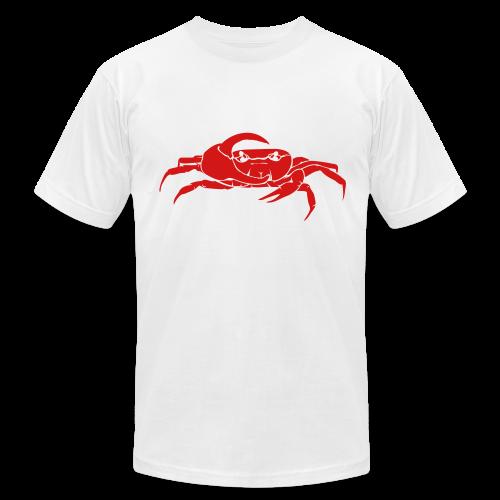 Mellowvision White Fiddler T - Men's Fine Jersey T-Shirt