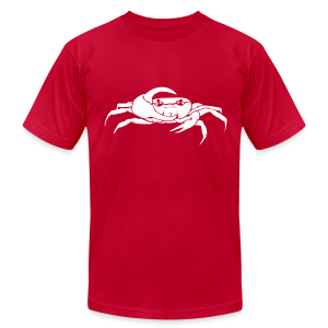 Mellowvision Red Fiddler T - Men's T-Shirt by American Apparel