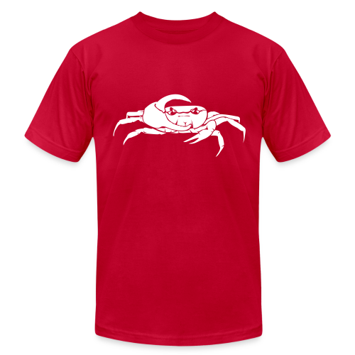 Mellowvision Red Fiddler T - Men's Fine Jersey T-Shirt