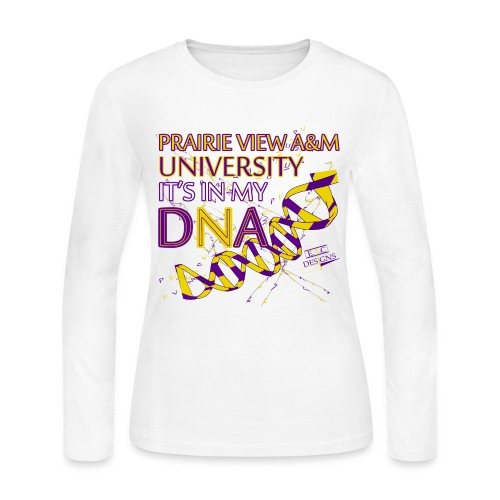 Womens Long Sleeve DNA - Women's Long Sleeve Jersey T-Shirt