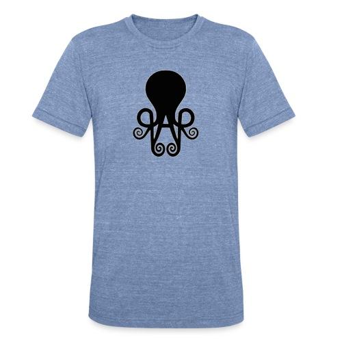 Queen Anne's Logo Unisex Blue Soft Top - Unisex Tri-Blend T-Shirt