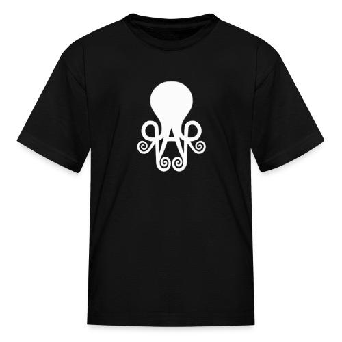 Queen Anne's Logo Kid's Black Top - Kids' T-Shirt