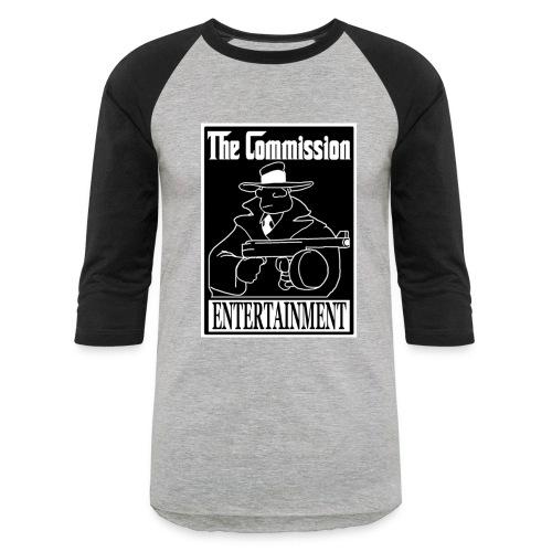 The Commission Entertainment - BASIC Baseball Tee - Baseball T-Shirt