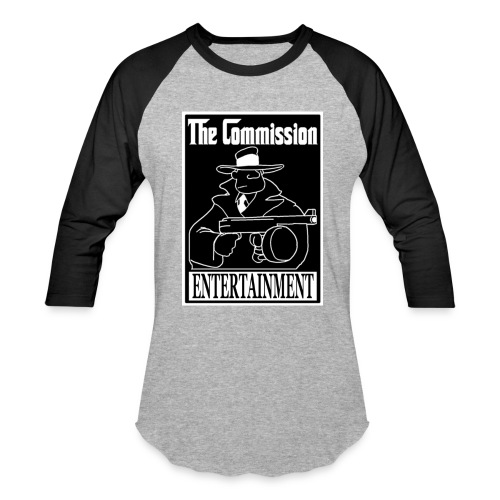 The Commission Entertainment - BASIC Baseball Tee - Baseball T-Shirt